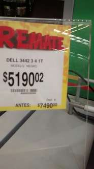 Bodega Aurrerá: laptop dell3442-3 4gb ram, 1tb core i3