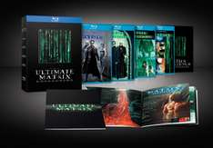 AMAZON: Trilogia Matrix Blu Ray a $382