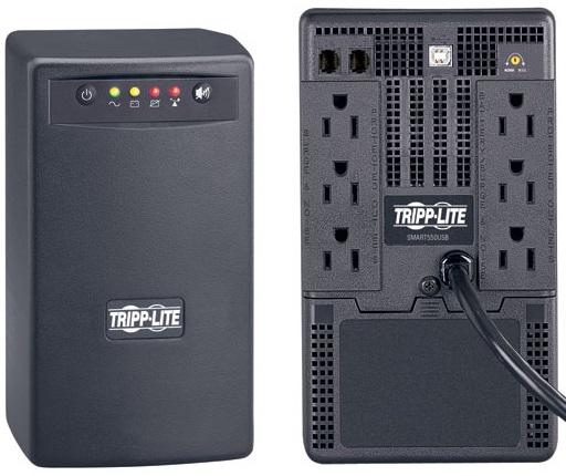 Amazon: Tripp Lite UPS Smart USB 550VA ($168.85 + envío)