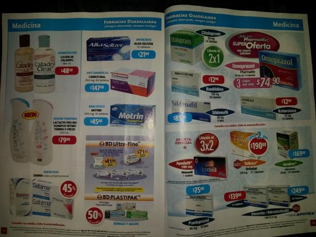 Farmacias Guadalajara: Promociones del 1 al 15 de julio.