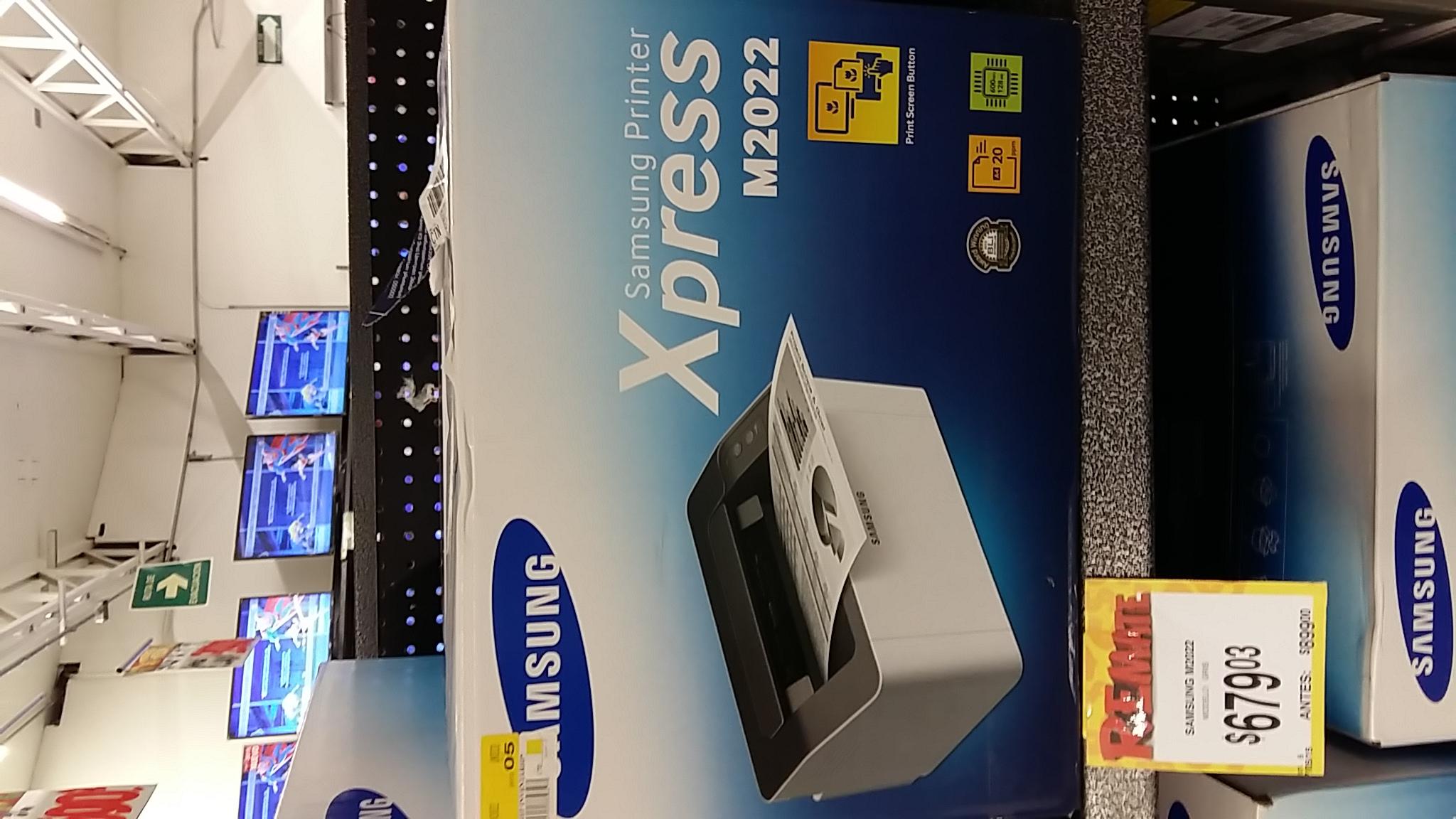 Bodega Aurrerá: Impresora Laser Samsung a $679.03