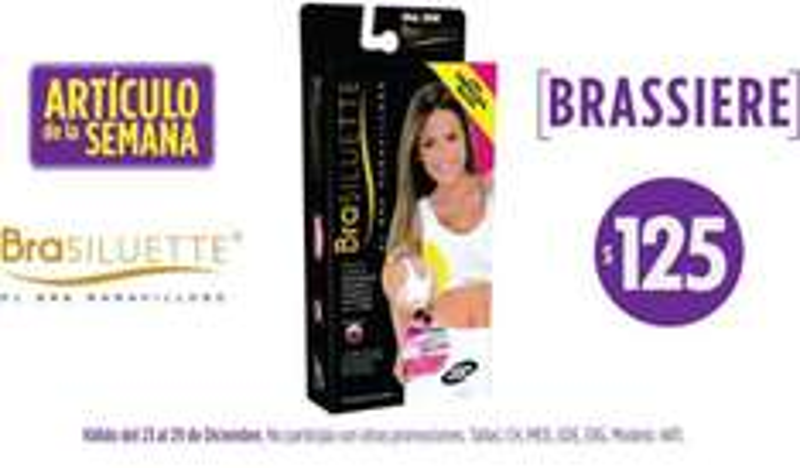 Artículo de la semana en Suburbia: brassier Brasiluette $125