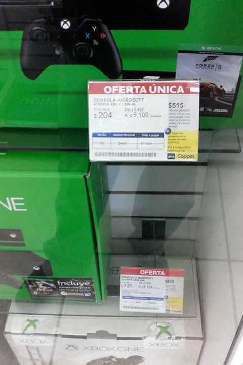 Coppel: Xbox One con Forza 5 a $5,100