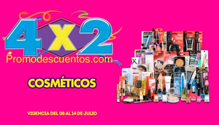 Ofertas de Julio Regalado 2015 en La Comer: 4x2 en Cosméticos