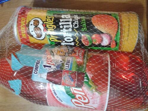 Walmart: Refresco peñafiel con pringles tortilla chips gratis a $15 y estuche Maja a $60.02