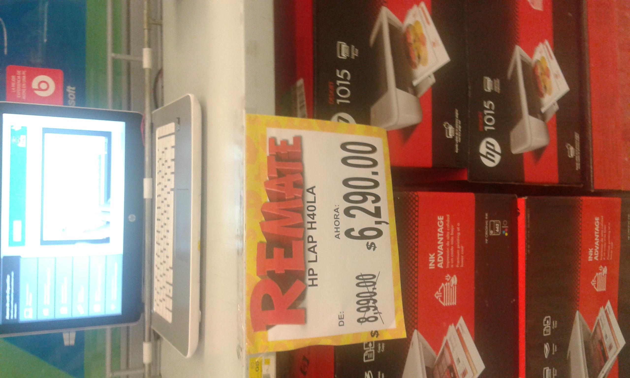 Bodega Aurrerá: laptop HP modelo H40LA a $6,299