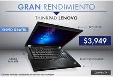 Linio: Laptop Lenovo Thinkpad T420 Intel Core i5 REACONDICIONADA a $3,949