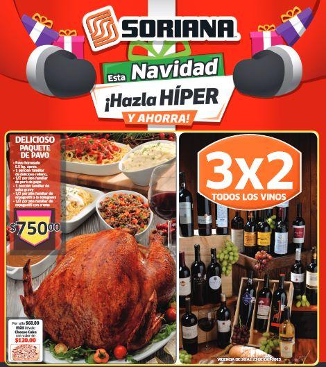 Folleto de ofertas Soriana del 20 al 26 de diciembre