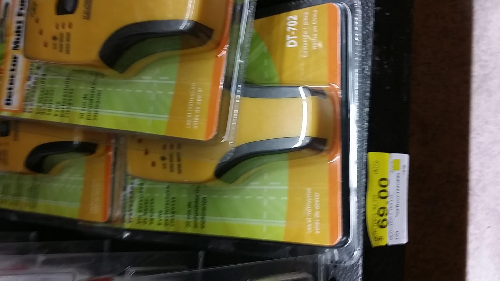 Walmart: detector de metales para pared