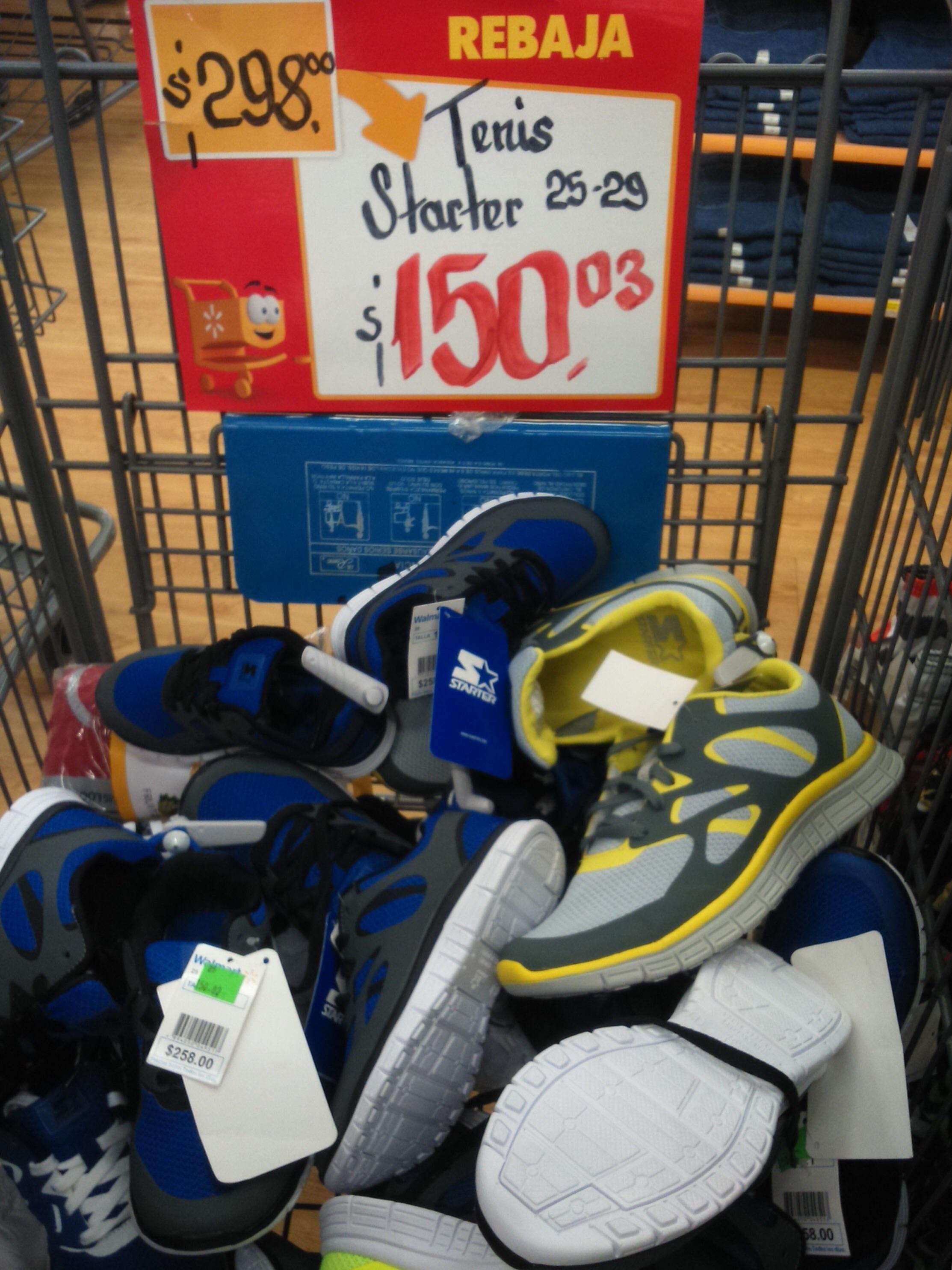 Walmart: tenis Starter a $150.03 y más