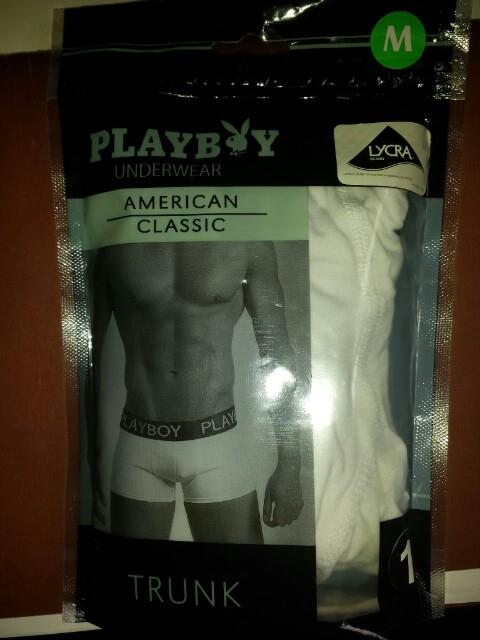 walmart: Boxer para caballero playboy 0.01