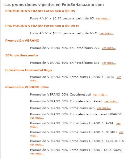 FotoSoriana: Impresión de fotos de 4x6 a 0.95 a partir de 65 fotos.