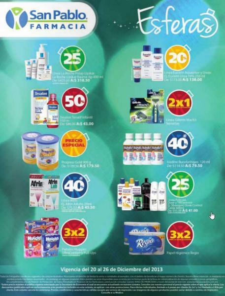 Farmacias San Pablo: 3x2 en pañales Huggies y papel Regio, 2x1 en Gillete Mach3 y más