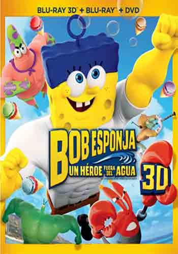 Blockbuster: película Bob Esponja en DVD $79