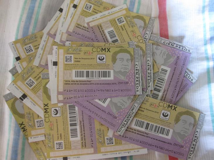 Promonoticias. Vales de $100 del GDF Si Vale... no valen.