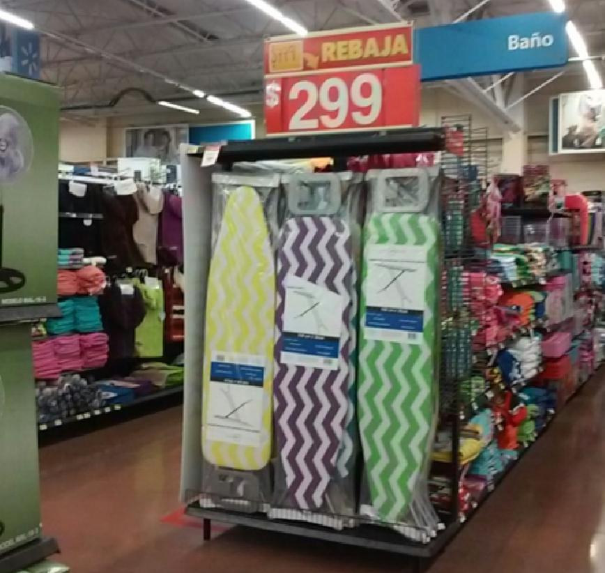 Walmart: MEGA Burro de planchar de $799 en $299
