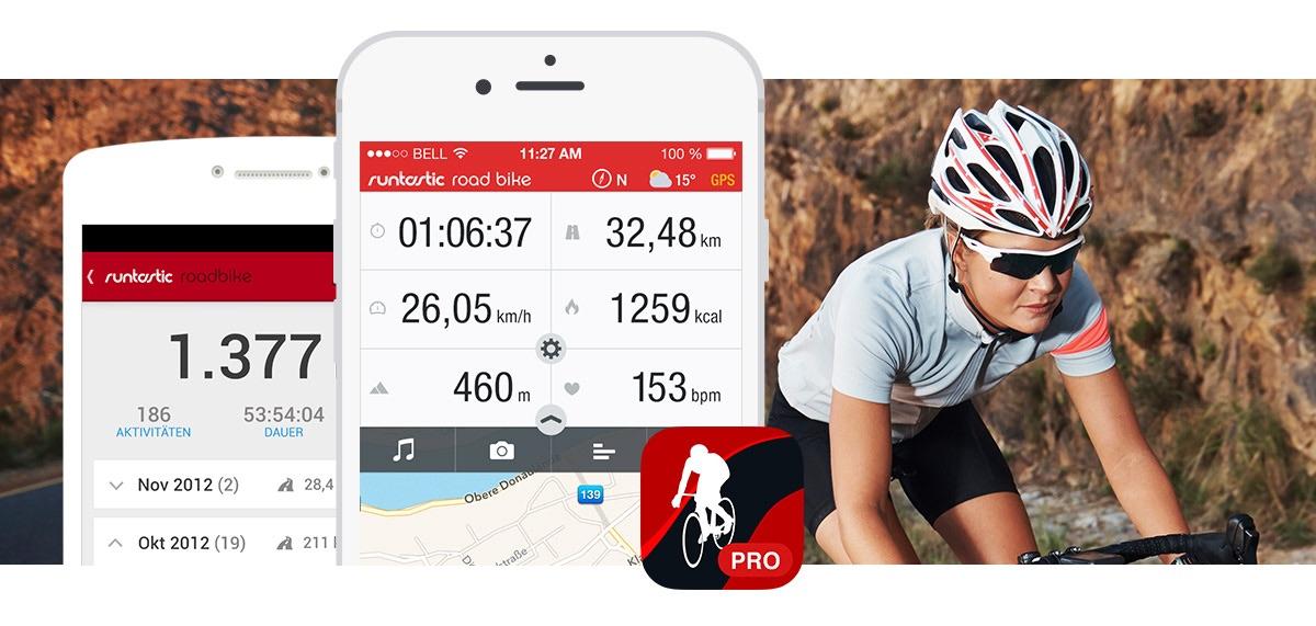 Runtastic: Road Bike PRO GRATIS