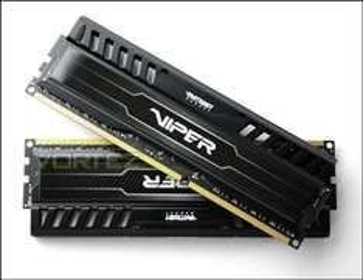 Amazon: Patriot Viper 3 Series, Black Mamba, DDR3 8GB (2 x 4GB) 1600MHz Dual Channel Kit (PV38G160C9K)