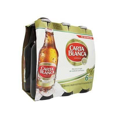Superama: dos six de cerveza Carta Blanca por $88
