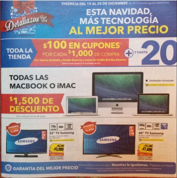Best Buy: $1,500 menos en iMac y MacBook, todos los discos $69, 50% en juguetes de RC y +