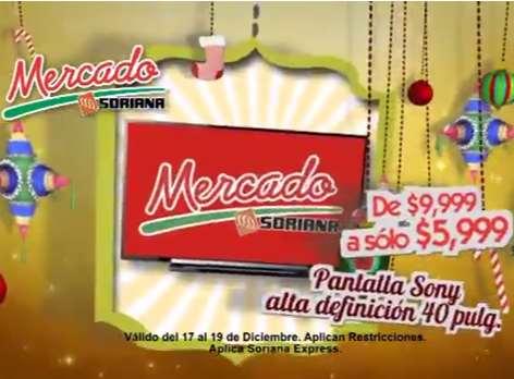 """Mercado Soriana: biciletas rodada 20 $899, TV LED Sony 40"""" $5,999, pavo $43 el kilo y +"""
