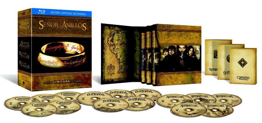 Amazon usa: Trilogia del señor de los anillos Versión Extendida