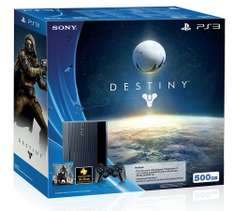 Amazon: Consola Playstation 3 Versión Destiny - Bundle Limited Edition $3,849