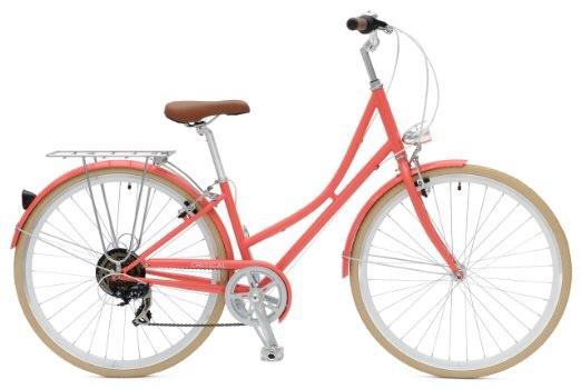 Amazon: Bicicleta Critical cyclesestilo Aleman vintage híbrida de 7 velocidades