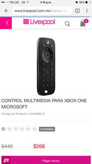 Liverpool: control multimedia de Xbox One a $268