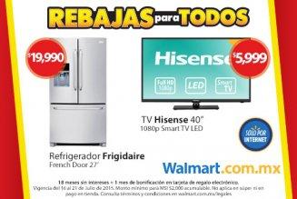 Walmart, 18 meses + 1 de bonificación en tienda online con Banamex