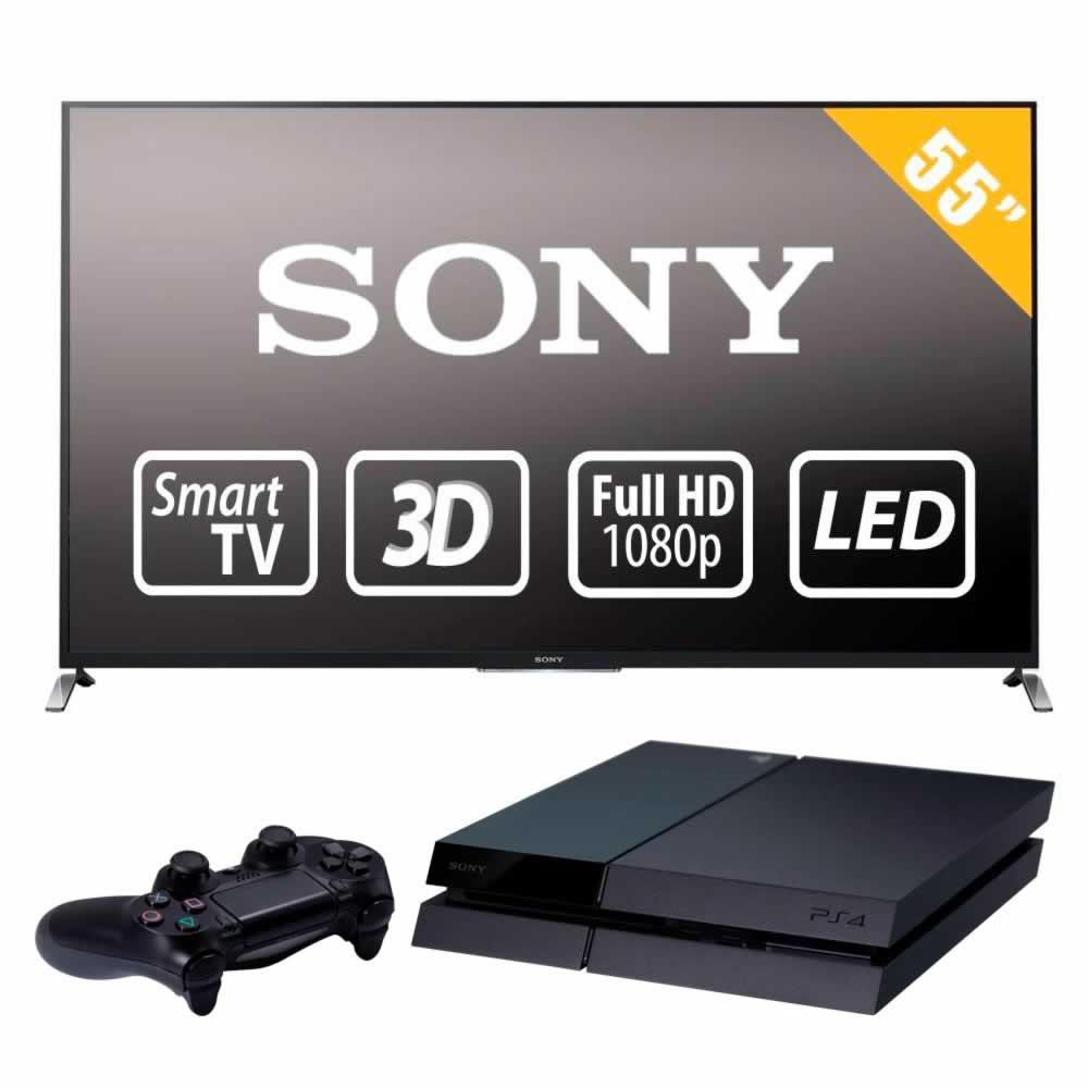 Walmart: Pantalla Sony 55W950B + PS4 $19,999