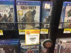 Walmart: Videojuego call of duty advance warfare para ps4 en liquidación $299.03