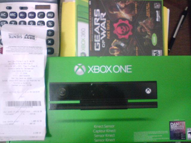 Best Buy: Kinect Sensor para Xbox One con juego descargable $1,889