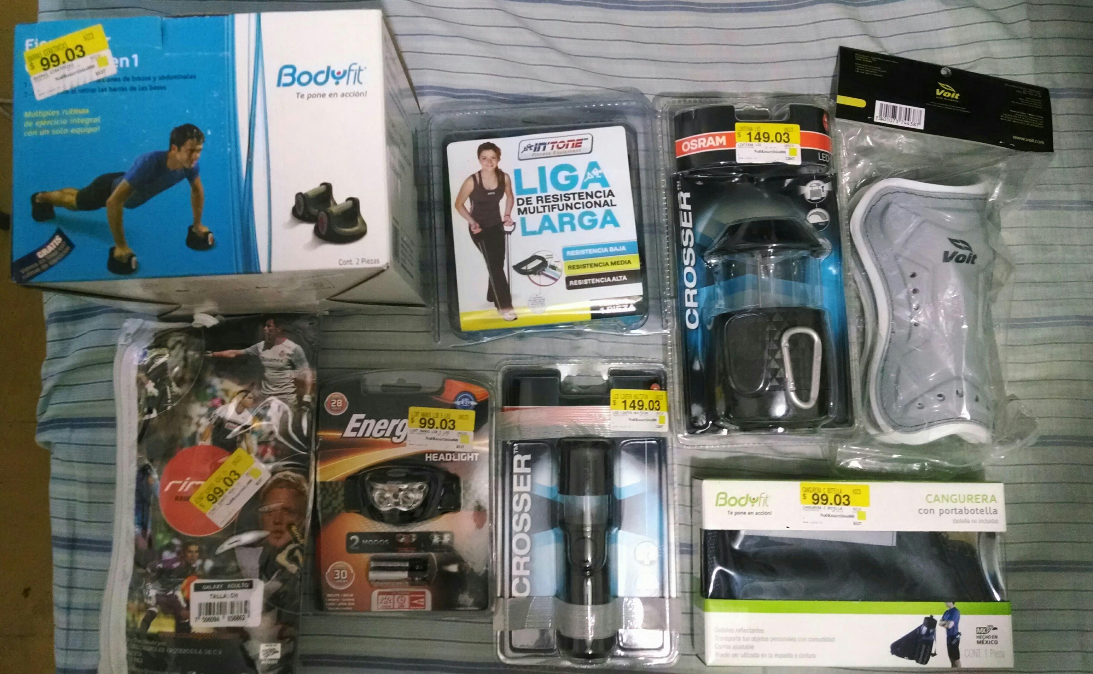 Walmart: Precios de cuarta liquidación en varias cosas