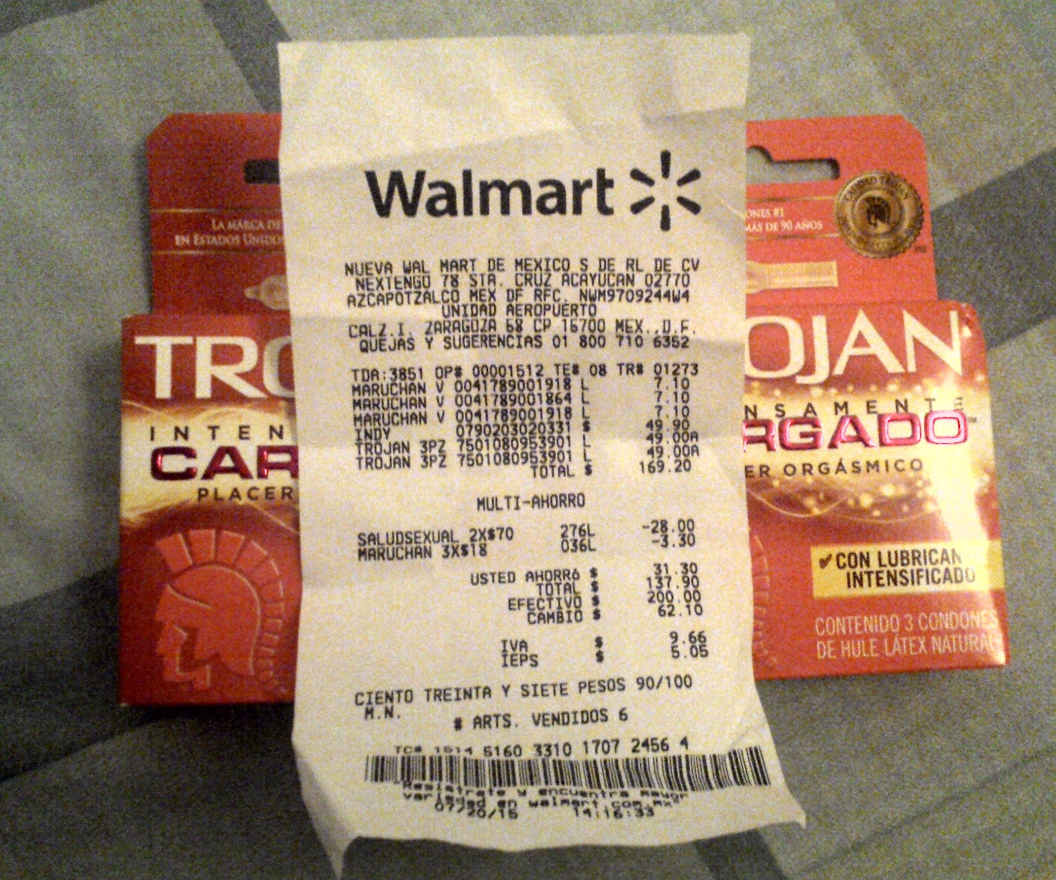 Walmart: Condones Trojan Intensamente recargado 2x $70