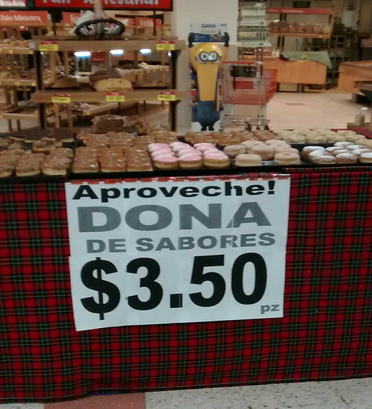 Soriana: donas a $3.50