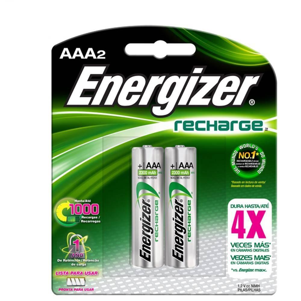 Walmart Bateria recargable AAA Energizer, 85 pesos con mercado pago