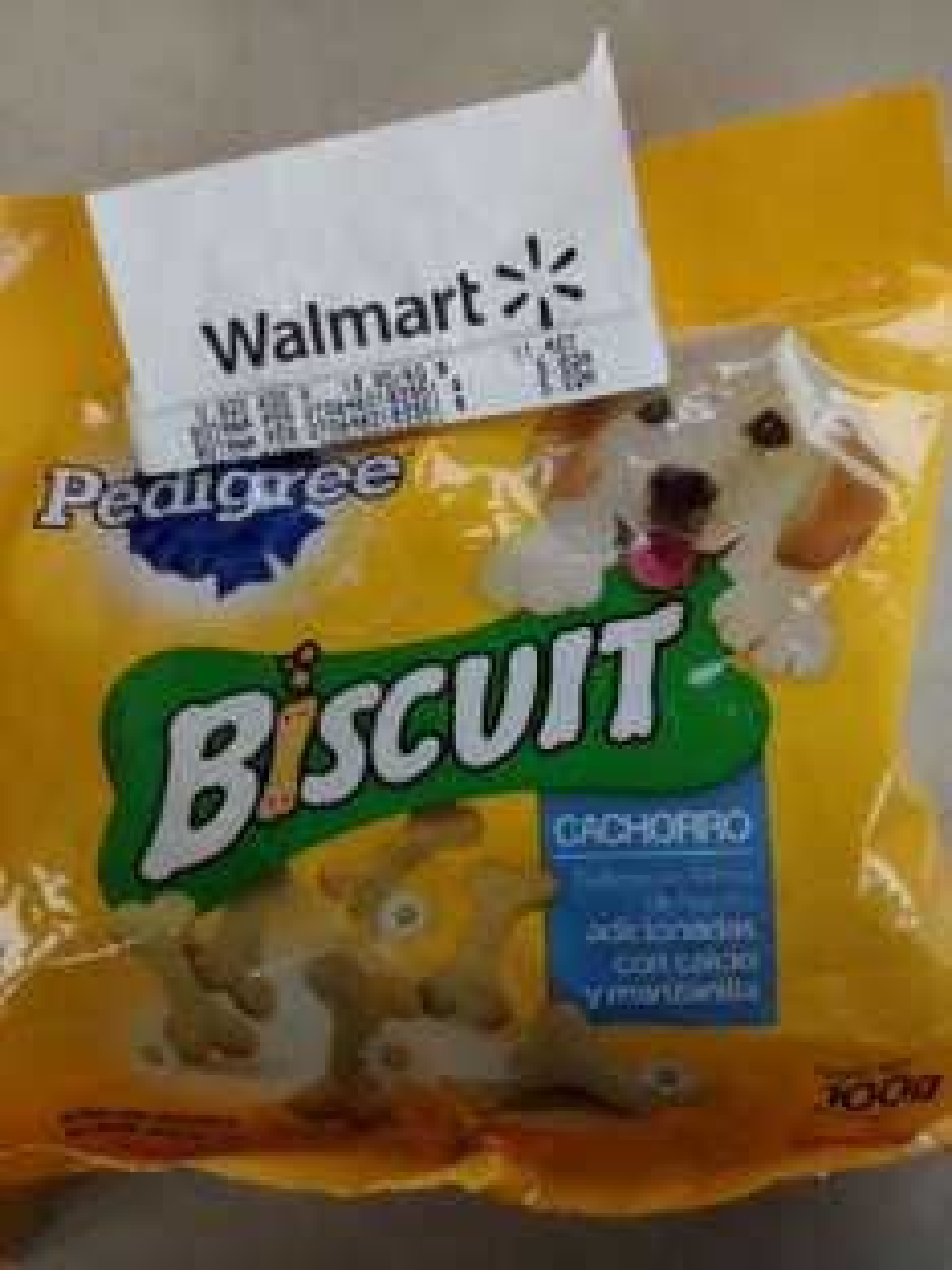 Walmart: Biscuit Pedigree para Cachorro a 5.02