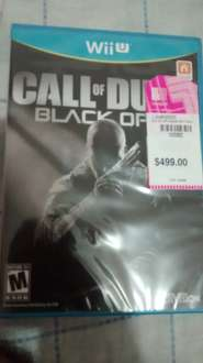 Liverpool: Call of duty para Wii U a $149