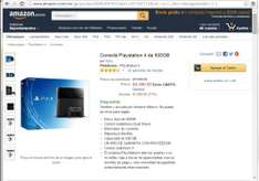 Amazon Mx: PS4 en $5990