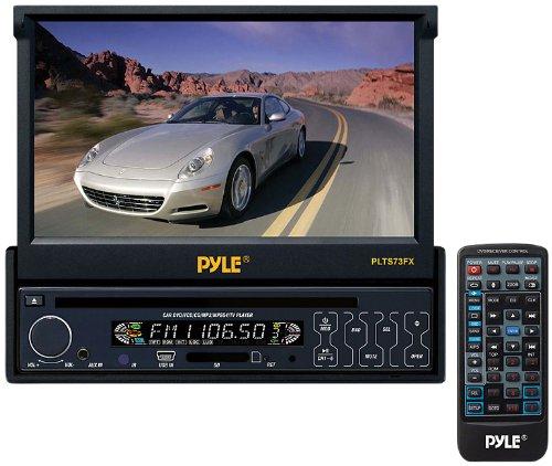 """Autoestéreo single DIN, con pantalla touch de 7"""" Motorizada, Marca Pyle $1911 (envió gratis) Amazon USA"""