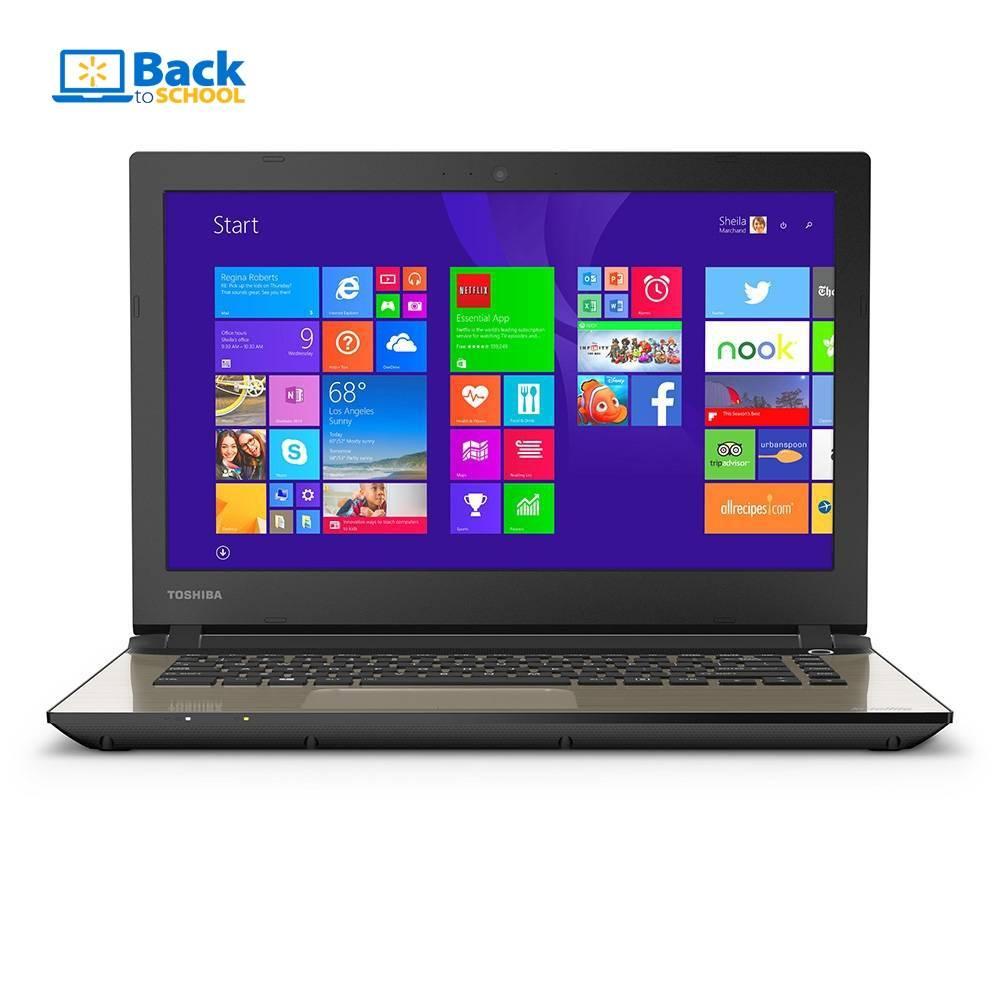 Walmart: laptop Toshiba i5 quinta gen desde $9,024, Lenovo Touch i3 desde $6,649