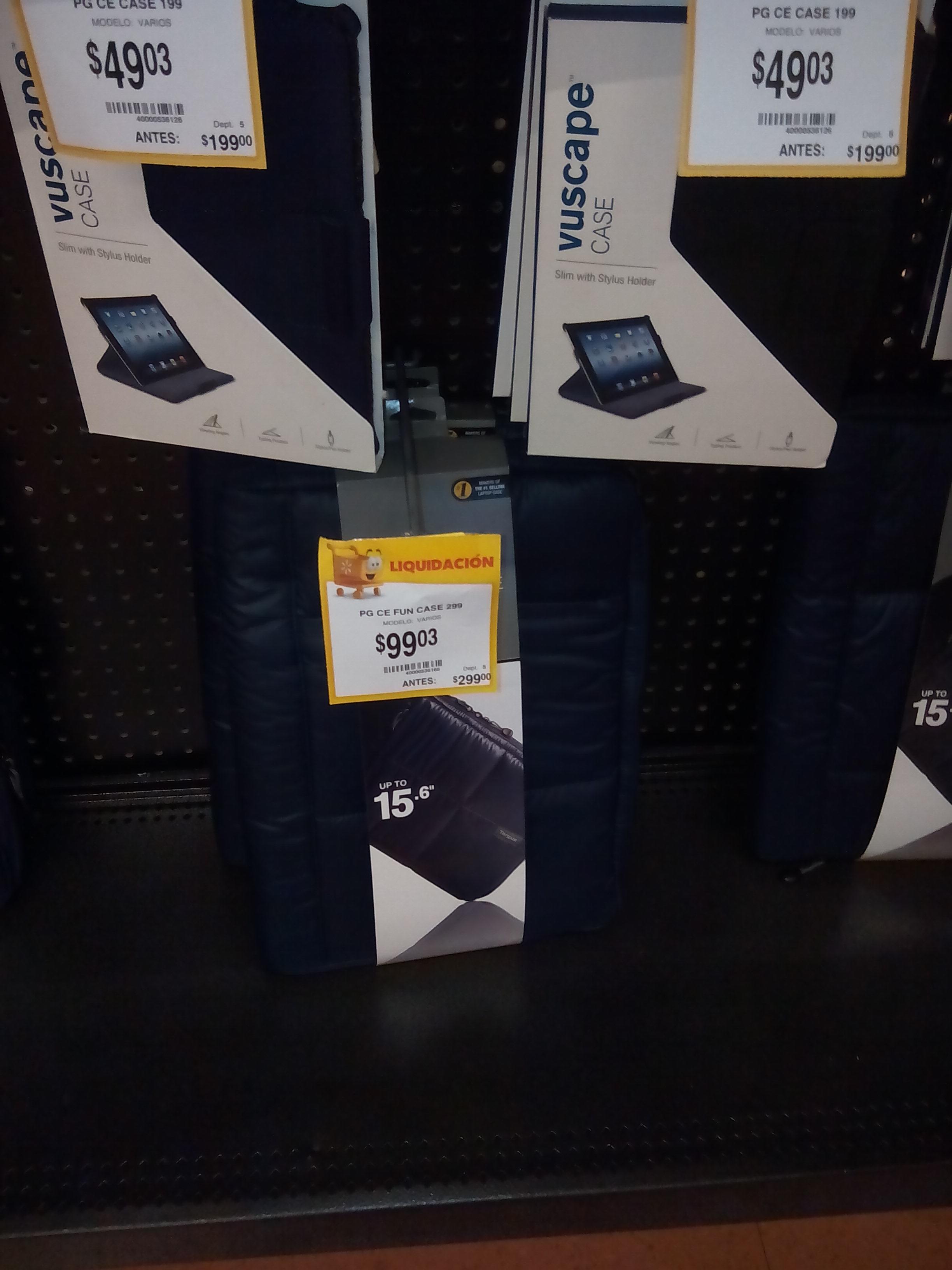 """Walmart: $99.03 maletín contra agua para lap top de 15"""" Targus"""