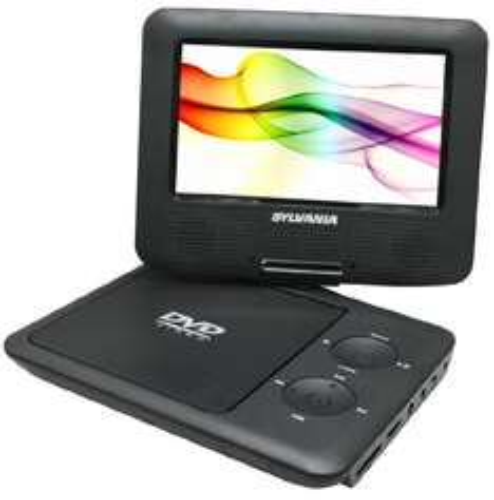 """Amazon: reproductor DVD portátil Sylvania 7"""" pantalla giratoria $40 dólares"""