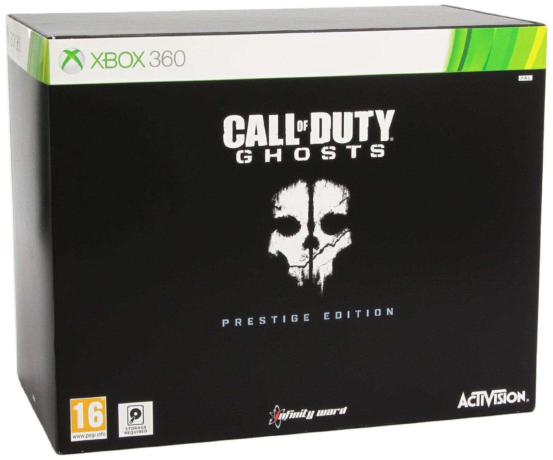 AMAZON: Call of Duty: Ghosts - Prestige Edition, Xbox 360 $718.45