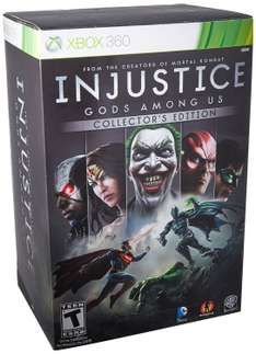 AMAZON: INJUSTICE: Gods Among Us - Xbox 360 Collector's Edition $546