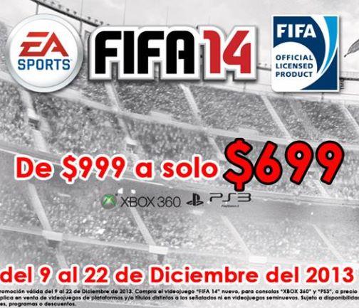 Blockbuster: FIFA 14 $699