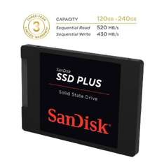 Amazon: SanDisk SSD Plus 120GB