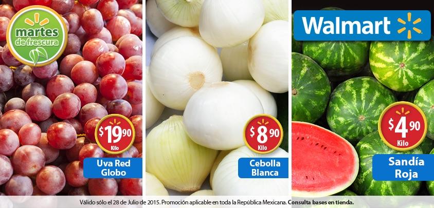 Martes de frescura en Walmart julio 28: Sandía Roja a $4.90 el kilo y más