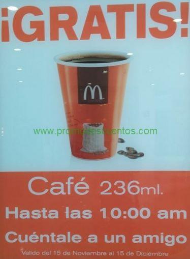 McDonald's: café gratis en las mañanas